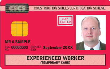Experienced Worker Card