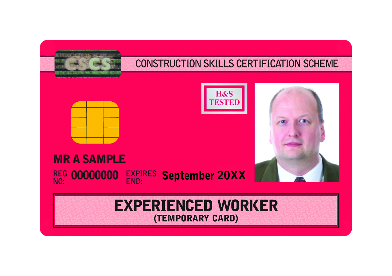 CSCS Experienced Worker Card