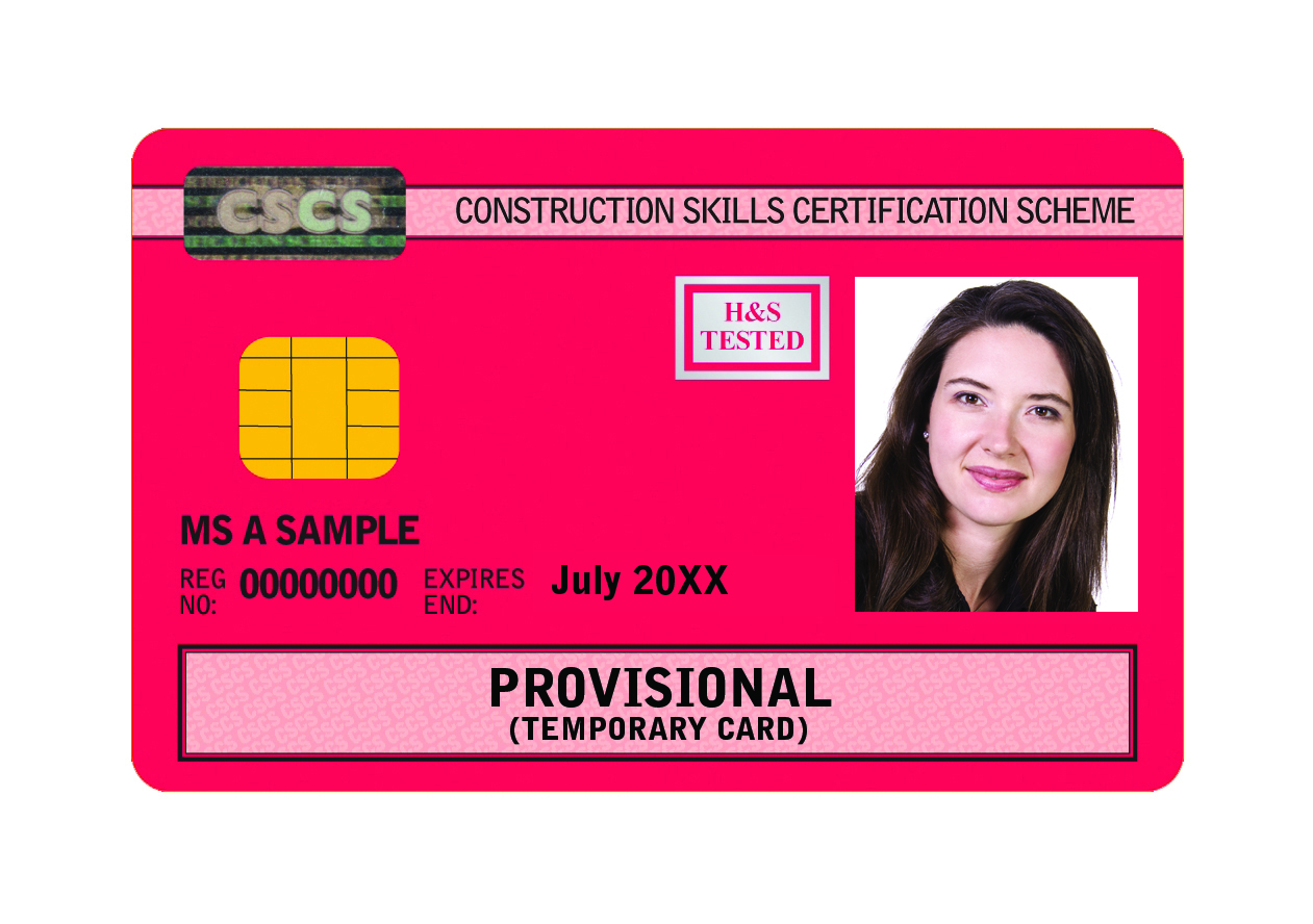 Provisional CSCS Construction Card