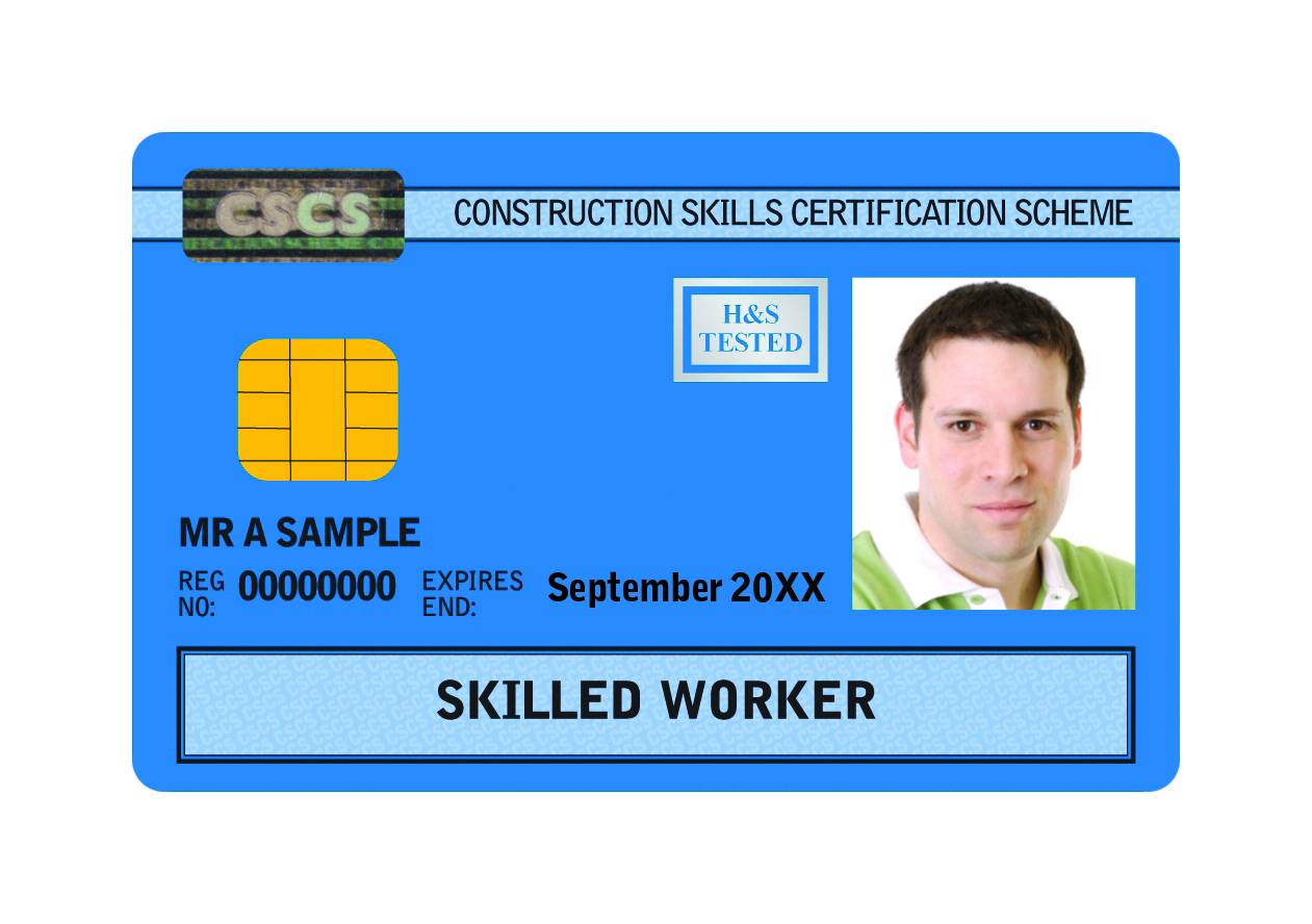 Skilled Worker CSCS Construction Training Card