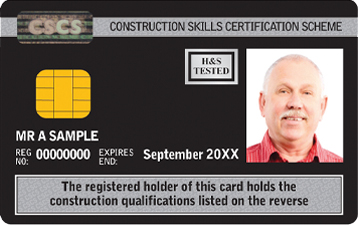 Manager CSCS Card Black
