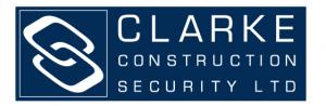 Clarity Construction Security logo