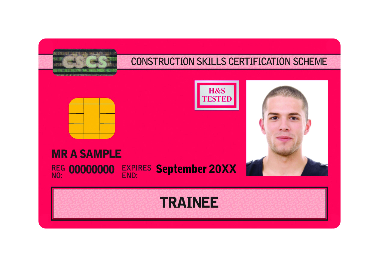 Construction Trainee Card